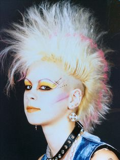 1980's punk! Me Photo Shoot, London.