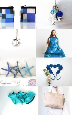 Blue ...like ocean!  by Tranquillina on Etsy--Pinned with TreasuryPin.com