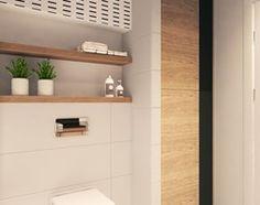 prosta stylowa łazienka
