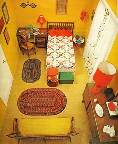 Yellow room  From Seventeen, March 1962