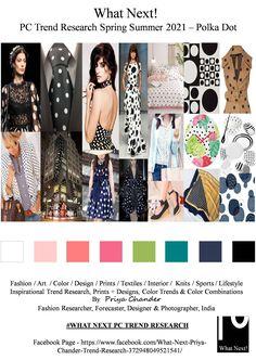#Polkadot #polkadots #SS2021 #WhatNextPCTrendResearch #PriyaChanderDesigns #FashionForecastByPriyaChander #ColorTrendsByPriyaChander #fashionconsultant #fashiondesigner #springsummer2021 #fashionforecaster #fabricprints #interiordecor #fashionforecastspringsummer2021 #interiors #homedecor #InteriordesignTrends #knitwear #hautecouture #fashionweekSS2021 #colortrendsSS2021 #fashionforecast #fashion #art #design #fashionresearch #fashionforecasting #sportswear #wallart #folkart #creative… Fashion Colours, Colorful Fashion, Summer Fashion Trends, Spring Fashion, Fashion Images, Fashion Art, Color Trends, Design Trends, Trend Council