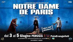 Notre Dame de Paris, l'opera moderna più famosa al mondo, arriva al Palaevanglisti dal 3 al 5 giugno con il cast originale