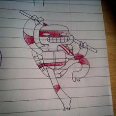 Don #tmnt #illustration #doodle #sketch