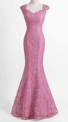 Evening Gowns - Advice For Holding Great Wedding Events Unique Dresses, Trendy Dresses, Elegant Dresses, Fashion Dresses, Bridesmaid Dresses, Prom Dresses, Formal Dresses, Prom Dress Shopping, Lace Mermaid