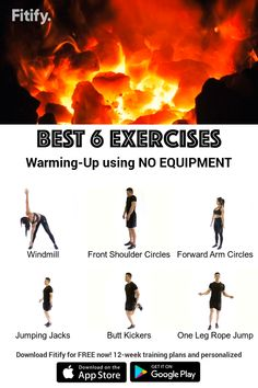 Weight Training Workouts, Easy Workouts, At Home Workouts, Fitness Exercises, Warm Up Exercises, Warm Ups Before Workout, Workout Warm Up, Gym Workout For Beginners, Workout Videos