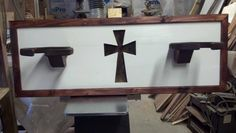 Campbell's Creations: Steven takes pride in designing and creating uqiue and affordable home decor items. Contact him today for all of your custom, western home furnishings. COWBOYS FOR CHRIST HAT RACK