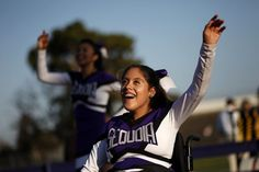 Looking for inspiration? Read this cheerleader's story about cheering from her wheelchair with spina bifida, and let her spirit cheer you on!