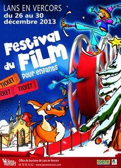 26ème Festival du Films pour Enfants - Lans en Vercors.