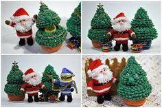 Bildergebnis für mini weihnachtsbaum gehäkelt