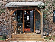 Colorado cabin - entry