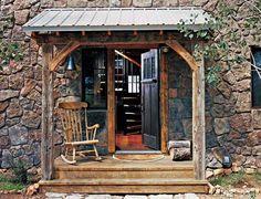 Colorado cabin - entry