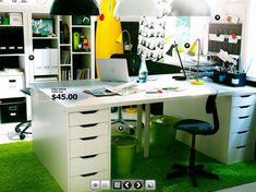 the study desk