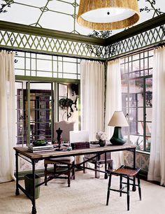 Indoor/Outdoor decor // latticework