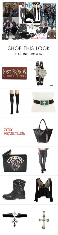 """one Tough mom"" by lerp ❤ liked on Polyvore featuring Geneva, M&F Western, OLIVIA MILLER, Rock & Roll Cowgirl, AX Paris and Glitzy Rocks"