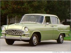 Toyota entered the American car market with the Toyopet in 1957