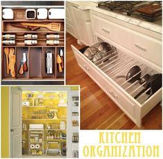 Kitchen Organizing Ideas Pinterest