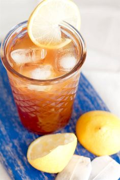 This homemade lemon iced tea is so refreshing as you can actually taste real tea and real lemon – not just sweetness. Definitely, a drink to cool the heat! Holiday Drinks, Summer Drinks, Cocktail Drinks, Cocktails, Summer Food, Lemon Iced Tea Recipe, Iced Tea Recipes, Filipino Recipes, Asian Recipes