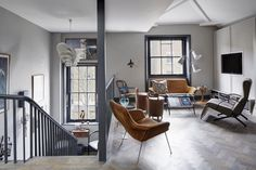 This Stylish London Loft Is Expertly Designed. You'll love it.