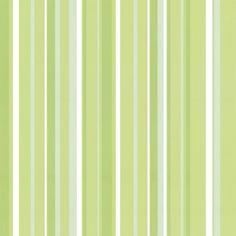 Coloroll Havana Striped Wallpaper Lime Green White CodeM0545