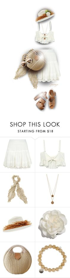 """Easy and Breezy"" by rockreborn on Polyvore featuring Misa, Stone_Cold_Fox, Bee Charming, Gigi Burris Millinery, Cara, Sydney Evan, Miu Miu and Michael Kors"