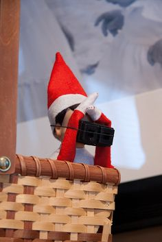 Elf spy work is never done