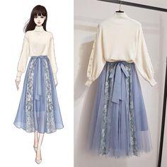 Fashion Drawing Dresses, Fashion Illustration Dresses, Fashion Dresses, Girls Fashion Clothes, Teen Fashion Outfits, Girl Fashion, 80s Fashion, Fashion Ideas, Dress Queen