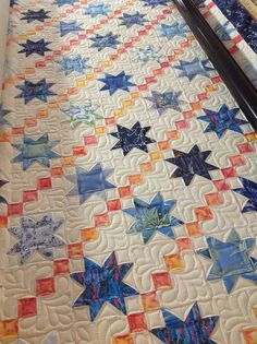 Stars by Jessica's Quilting Studio, via Flickr