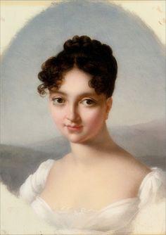 Marie-Victorie Jaquotot · Autoritratto · 1800 · Collezione privata