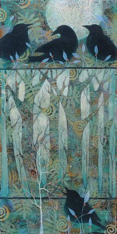 GORGEOUS! Sue Davis, mixed media artist