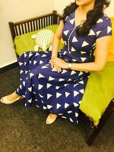 More Salwar Pattern, Kurta Patterns, Simple Kurti Designs, Blouse Designs, Indian Designer Outfits, Designer Dresses, Anarkali Dress, Anarkali Suits, Long Anarkali