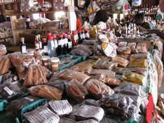 Spice Island, St. George's Market, Grenada Caribbean ... Best place to find fresh cinnamon,nutmeg and cloves for fall harvests cooking-canning. You can purchase jams, jellies, candied ginger, etc.