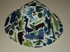 BABY BOY Sun Hat Made To Order Sizes Newborn by AuntBsBonnets, $19.00