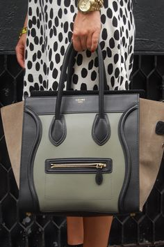 stunning celine bag - love the colours on this #bagporn  #Celine