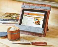 Reclaimed Wood Kitchen Accessories - Reclaimed & Repurposed Home Accessories - Home & Garden Tabletop Accessories, Kitchen Accessories, Ipad Kitchen Stand, Napa Style, Tablet Holder, Ipad Holder, Reclaimed Wood Kitchen, Cookbook Holder, Cook Book Stand