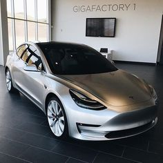 Model 3 looking pretty nice! What is your opinion on the 3?  @motortrend #Tesla #TeslaMotors #TeslaModelS #TeslaModel3 #TeslaModelX #TeslaRoadster #ModelS #ModelX #Model3 #Roadster #ElonMusk #Electric #EV #ElectricVehicle #ElectricCar #NoGas #CarsOfInstagram #TeslaGram #TeslaLife #TESLARATI by teslarati