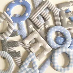 Die 195 Besten Bilder Von Stoffbuchstaben Letters Fabrics Und