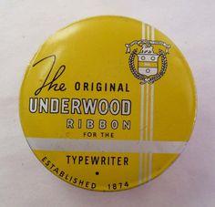 Vintage Typewriter Ribbon