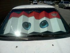 Cars with eyes