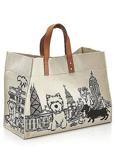 westie (west highland white terrier) - Canvas Tote Bag by Marc Tetro