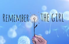 "Remember The Girl #rememberthegirl ""Together we can build a beautiful future for everyone.""-Michelle Phan"