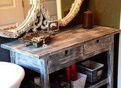 DIY re-finish your Ikea furniture!  http://www.bohobunnie.com/diy-refinish-ikea-furniture/