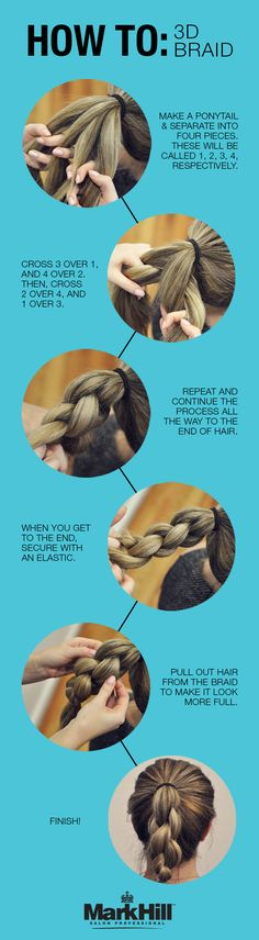 Bring style to life with this 3D braid.