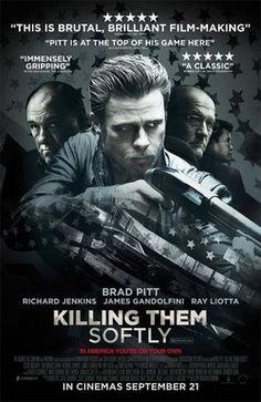 NEW Movie – Killing Them Softly starring Brad Pitt and Ray Liotta (trailer inside) Ray Liotta, Action Movie Poster, Action Movies, Brad Pitt, Killing Them Softly, Famous Movie Posters, Nova Orleans, 2012 Movie, I Love Cinema
