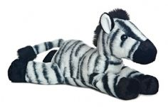 Zest the Zebra (Flopsie) at theBIGzoo.com, an animal-themed store established in August 2000.