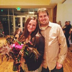 Jeff and Emily at our Engagement Party last night. Congratulations to you both!!