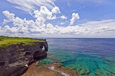 Maeda Point, Okinawa, Japan. Great place for snorkeling or diving.