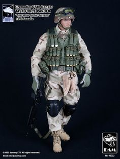 onesixthscalepictures: DAM Toys Grenadier 75th Ranger : Latest product news for 1/6 scale figures (12 inch collectibles) from Sideshows Coll...