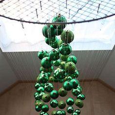 Suspended Tree - DIY Christmas Tree - Christmas Tree Alternatives - Bob Vila