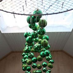 Suspended Tree - DIY Christmas Tree - Christmas Tree Alternatives - Bob Vila