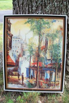 Wall Art Parisan Cityscape Dubois Paris by ArtEphemerandButtons, $52.80 Our etsy shops: http://www.etsy.com/shop/artdesignsbydanielle http://www.etsy.com/shop/AntiquesandVaria http://www.etsy.com/shop/IndustrialPlanet  http://www.etsy.com/shop/ArtEphemeraButtons http://www.etsy.com/shop/TheraputicEssentials http://www.etsy.com/shop/AncientHillsWood